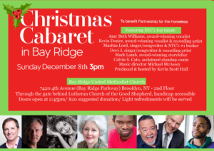 CHRISTMAS CABARET - To Benefit Partnership for the Homeless